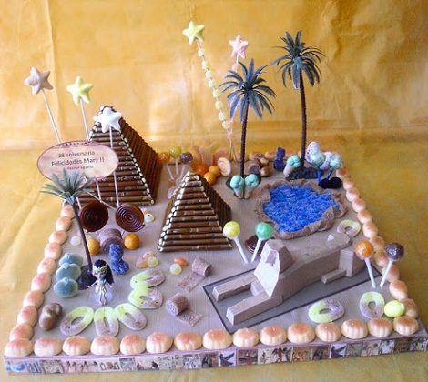 tartas de chuches para infantiles