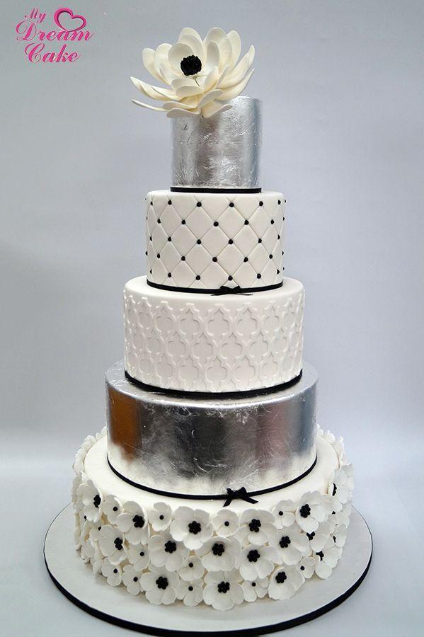 Elegant Wedding Cake You can Get it @ http://mydreamcake.com.au/Custom-Made-Cakes-Melbourne/Best-Wedding-Cakes-Melbourne