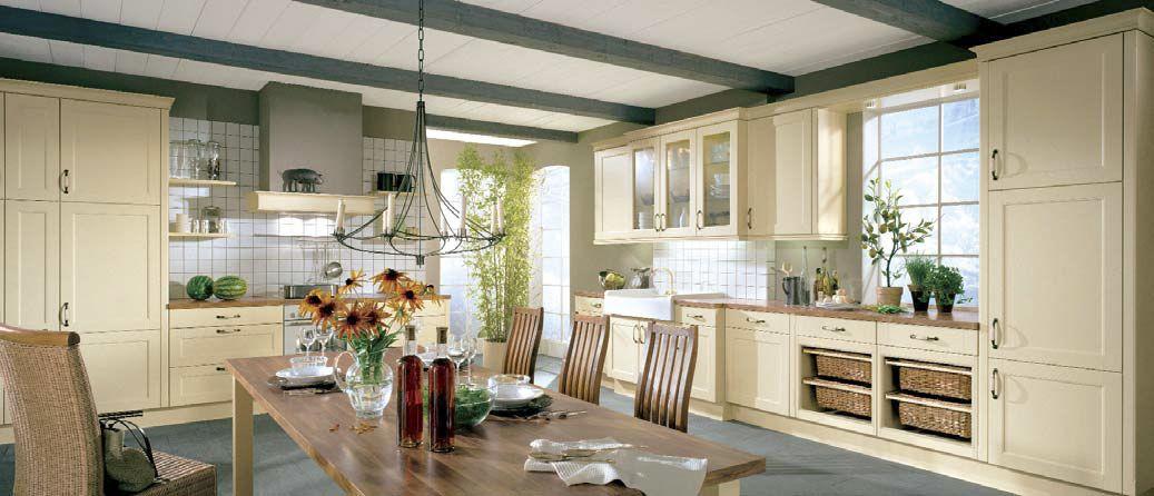 nolte-küche lucca im landhaus-stil http://www.hoeffner.de/kuechen, Esszimmer