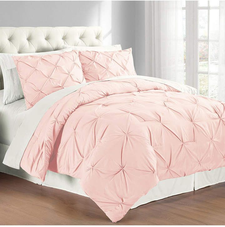 Cathay Home Inc. Premium Collection Twin Pintuck Bedding Comforter Set & Reviews - Bed in a Bag - Bed & Bath - Macy's