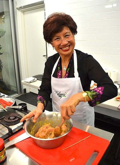Malaysian Celebrity Chef Florence Tan S Chicken Satay With