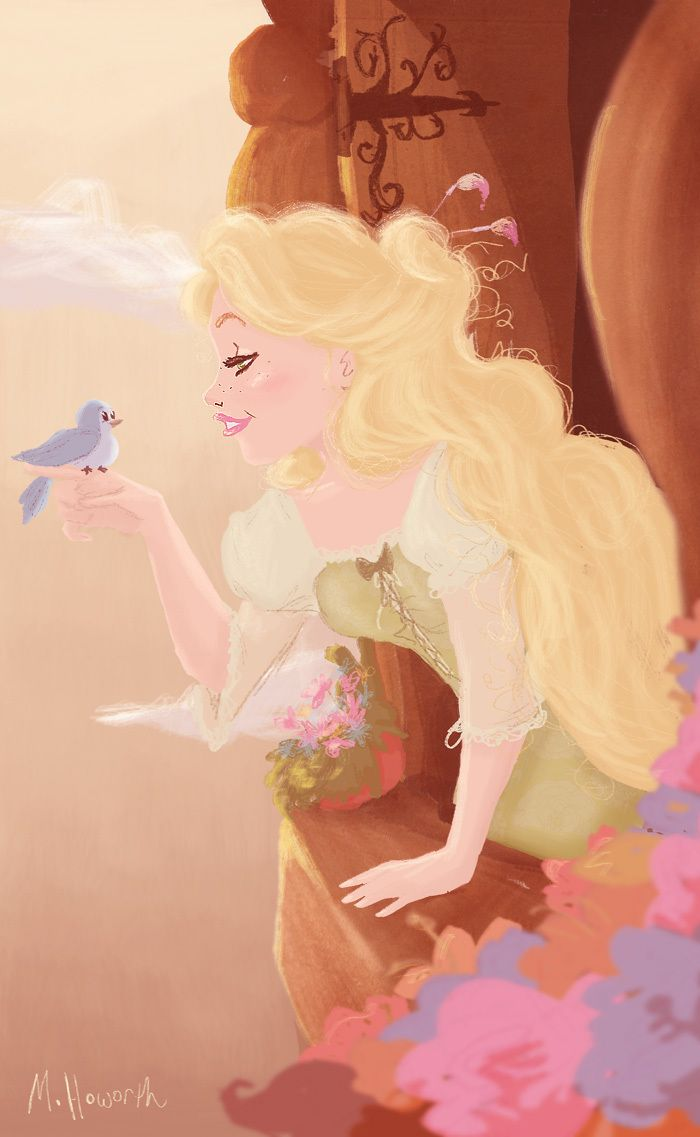 """Rapunzel """"You are ready to fly"""" - flynn-and-rapunzel Fan Art"""