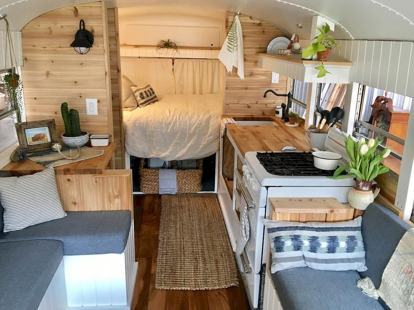 School Bus Camper Interior And Plans Ideas To Nostalgic Livingmarch 20 Wild Wonderful
