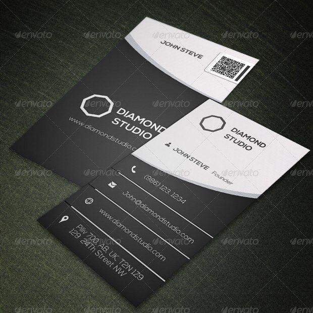 Corporate business card design v11 graphic design pinterest 25 creative business card design inspiration reheart Choice Image
