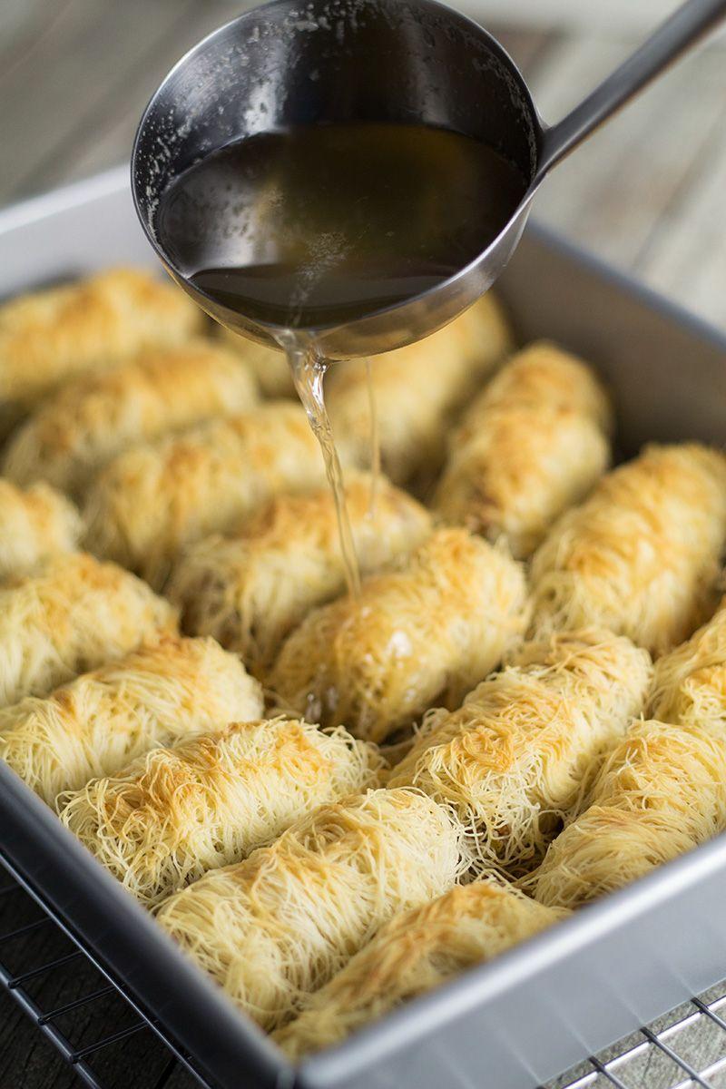 1000+ ideas about Kataifi Pastry on Pinterest | Turkish Dessert ...
