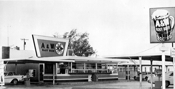 A W Drive In Vintage Restaurant Root Beer A W Root Beer