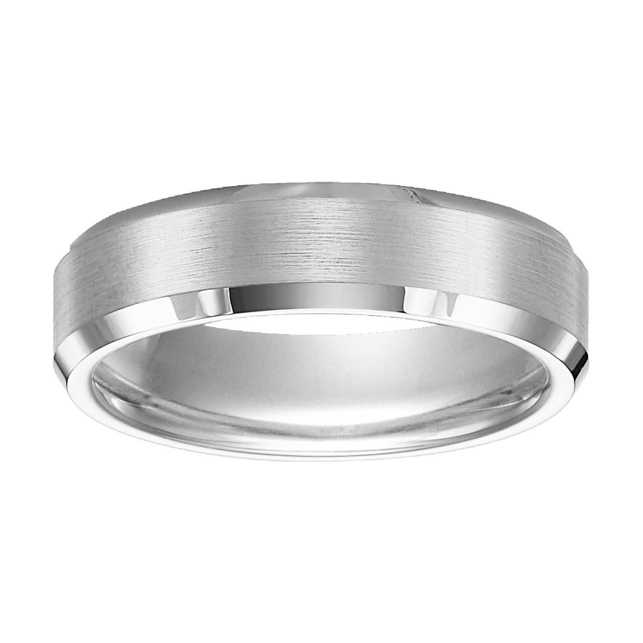 Hoppe Jewelers - WTC 6MM SATIN CTR BEVELED EDGE CF WED BAND, $240.0 (http://www.hoppejewelers.com/wtc-6mm-satin-ctr-beveled-edge-cf-wed-band/)