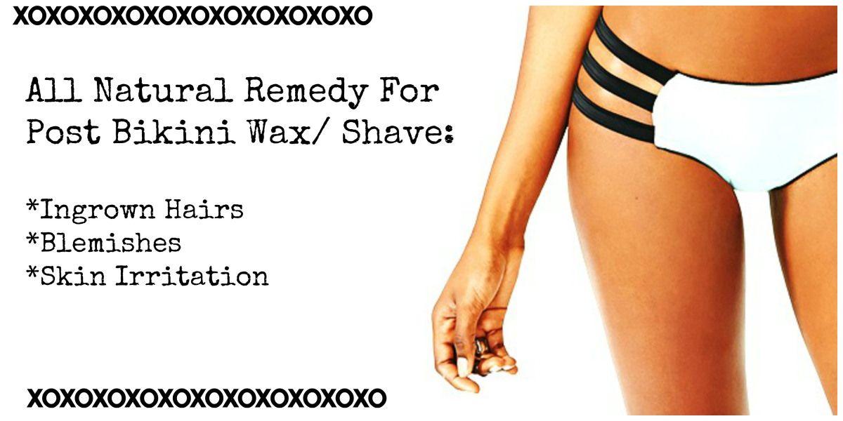 Bikini wax shaving