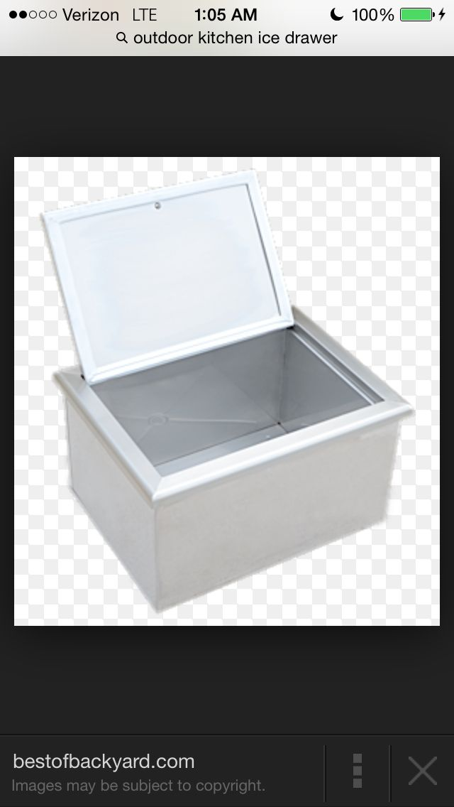 Pcm Made In The Usa Insulated Ice Drawer 260 Fid Panel Doors Kitchen Styling Drawer Tracks