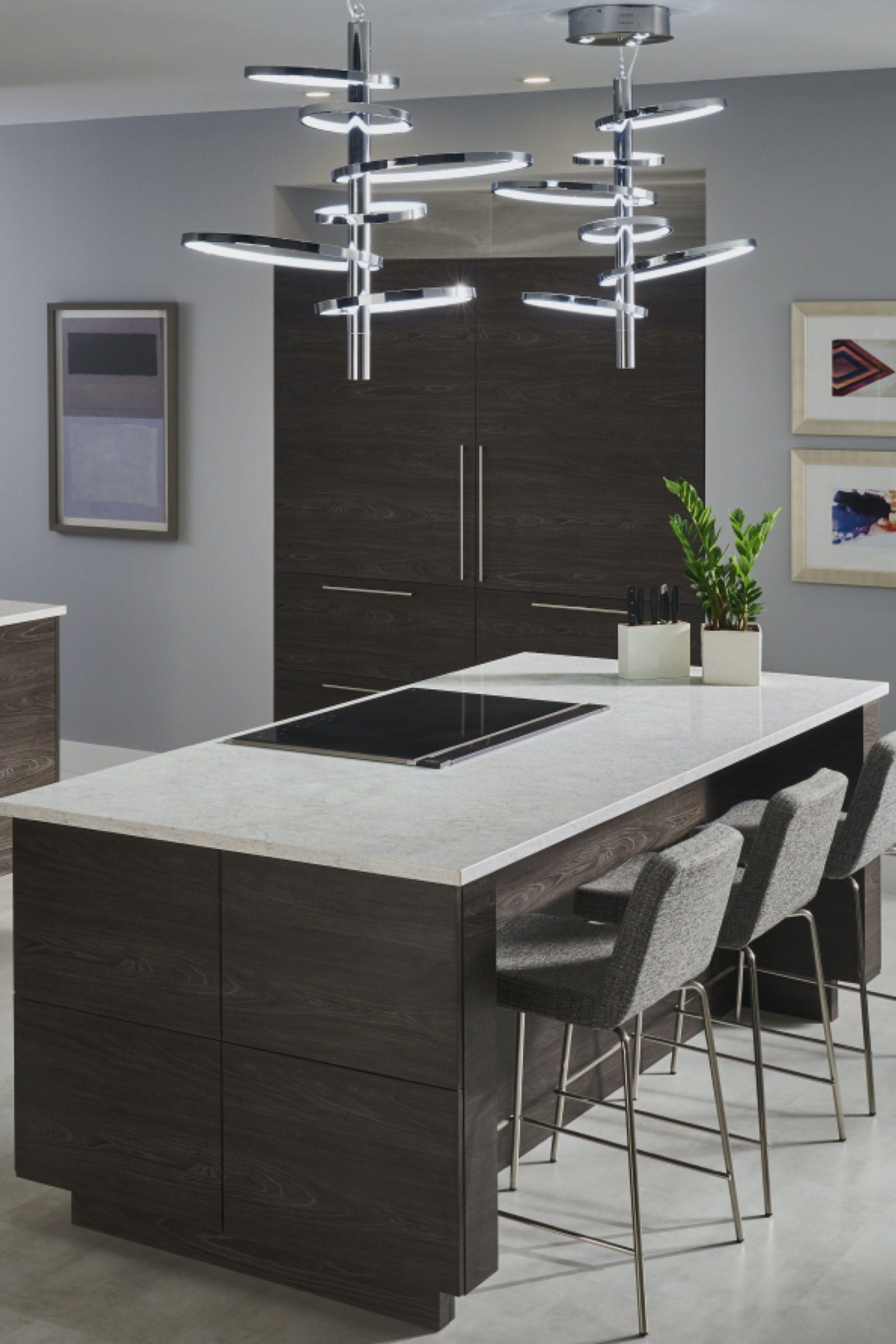 Aura Lg Viatera Quartz Countertops Cost Reviews Quartz Kitchen Quartz Countertops Dark Wood Cabinets