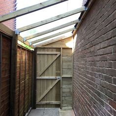 Side Passage Roof Google Search Shed Design Wood Pergola Garden Storage