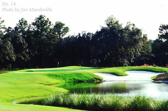 The World Golf Village  King and Bear Course St Augustine Fl.