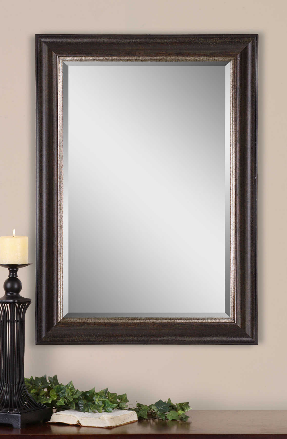 Fayette Mirror 2 Per Box Uttermost Rustic Wall Mirrors Mirror Wall Bedroom Wall Mirrors Set