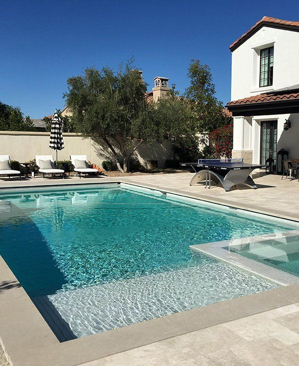Hang By My Pool: Part 2 - Kylie: | Awesome Inground Pool Designs ...