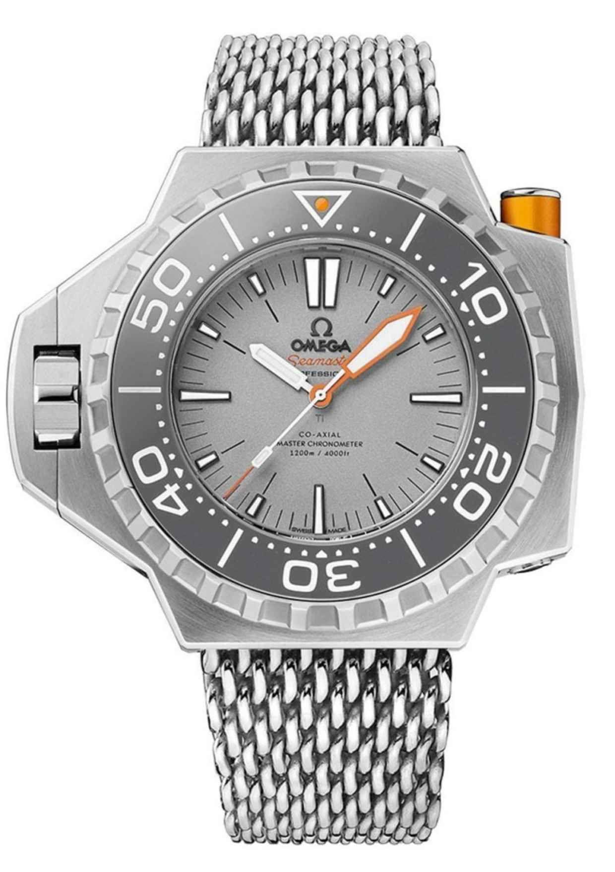 f02b8ccd807 Omega updates its PloProf Diver with a new titanium model