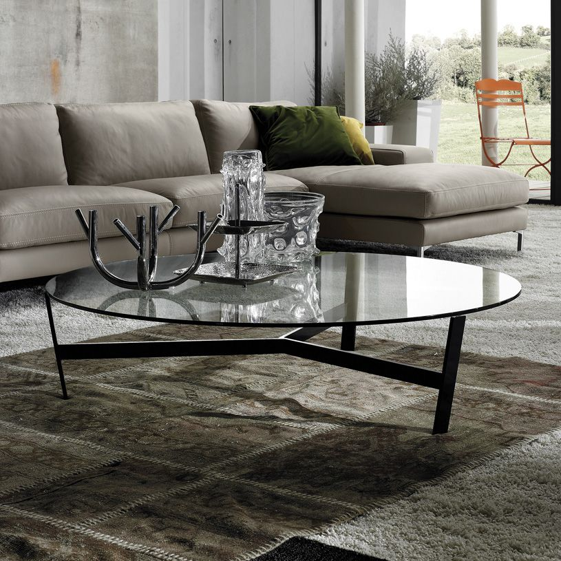 Darcy Glass And Chrome Coffee Table: UREĐENJE DNEVNOG BORAVKA SA STAKLENIM STOLOM