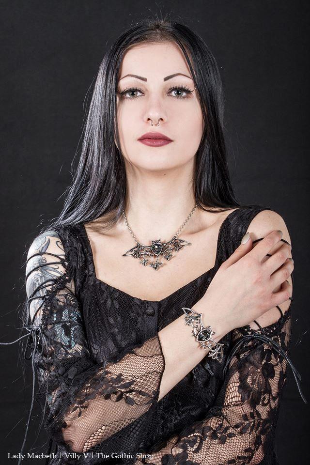 Alchemy Gothic Viennese Nights Necklace vcdN6gol