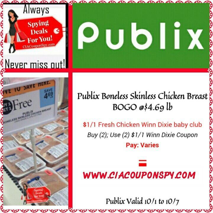 Good deal on chicken baby club publix deals fresh chicken