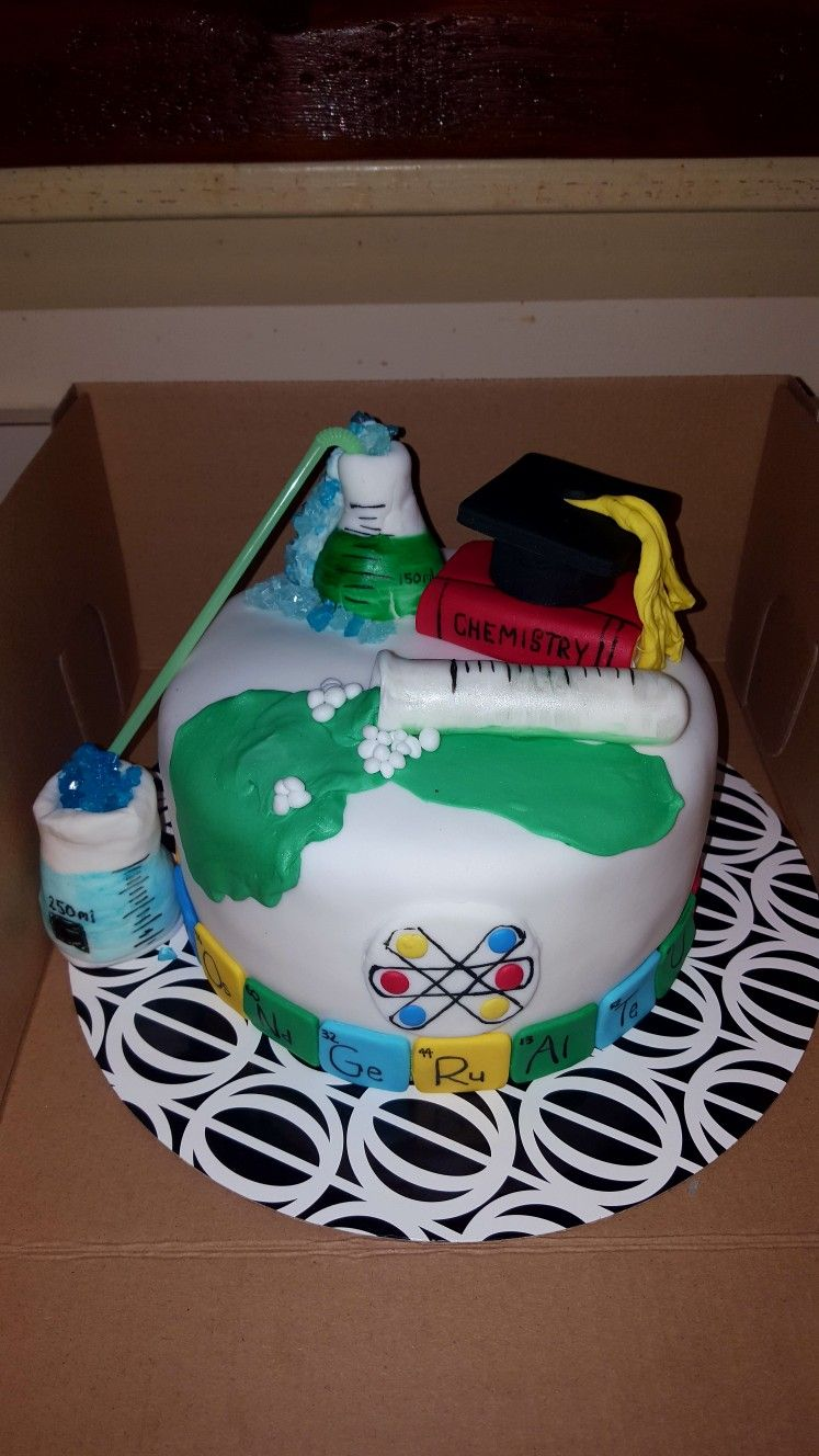 Chemical engineer graduation cake caputos cupcakes pinterest chemical engineer graduation cake gamestrikefo Choice Image