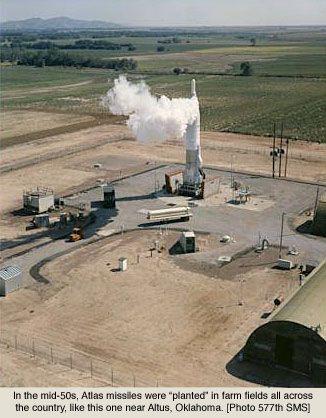 Atlas Missile Silo Near Altus Oklahoma 1950s  Armageddon