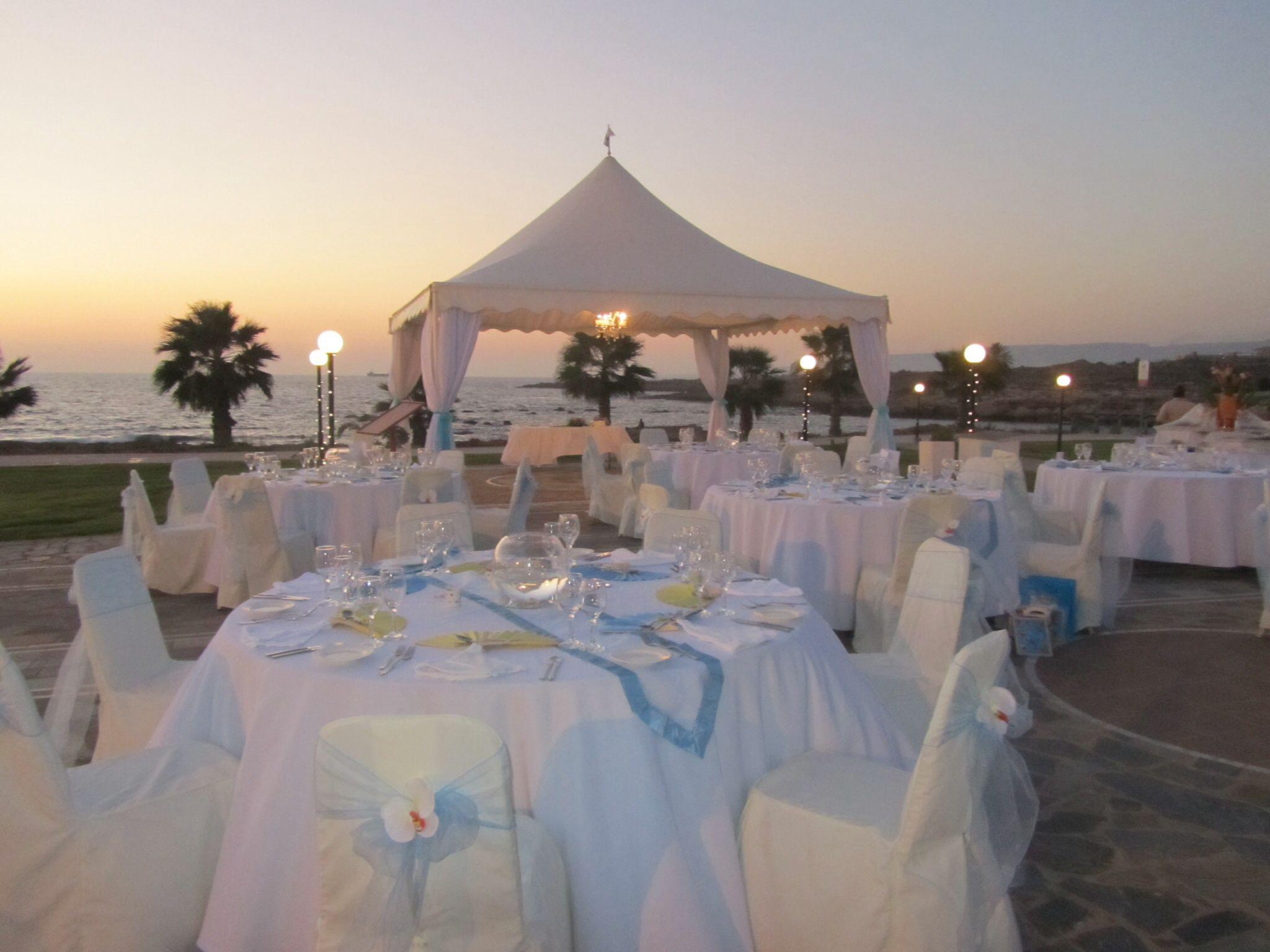 Luxury Wedding Venue With Private Beach: Kefalos Beach Weddings