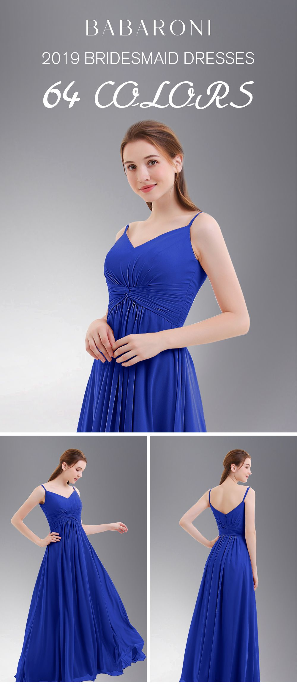 cb7545a2a021bf Elegant Royal Blue Bridesmaid Dresses - Gomes Weine AG