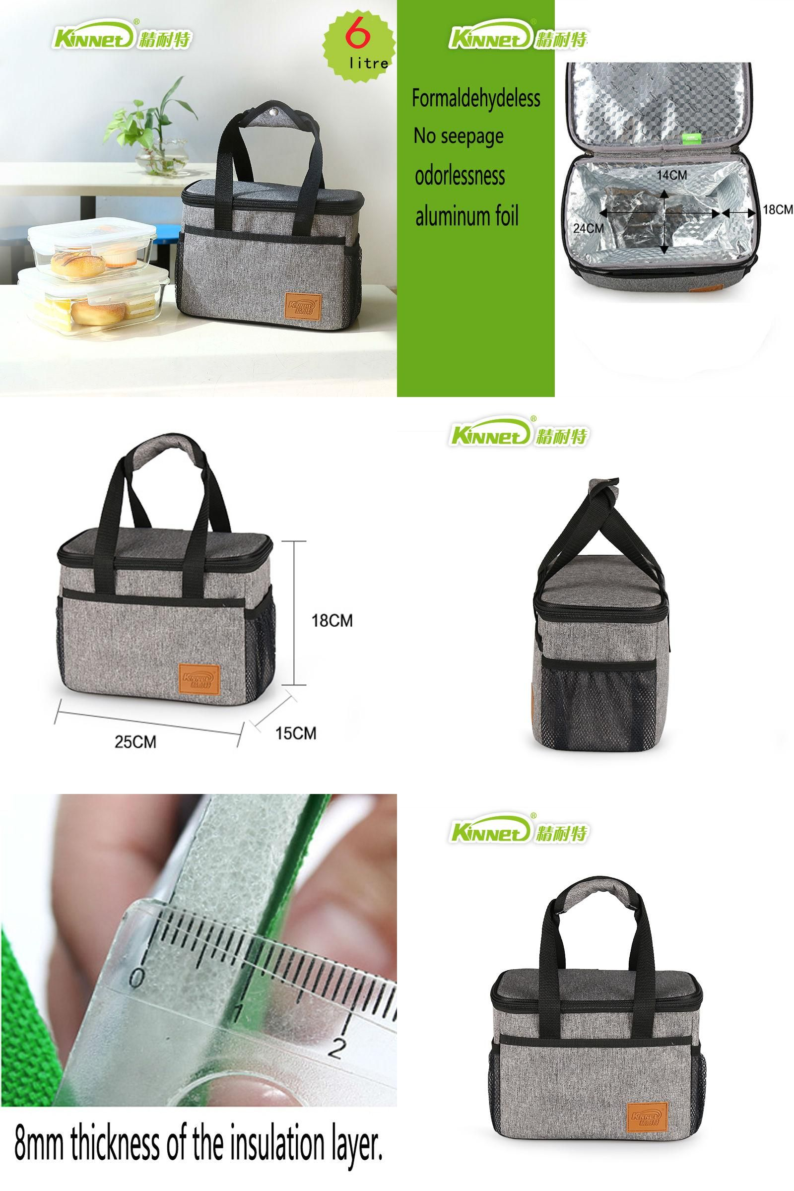 a92dc46d0781  Visit to Buy  KinNet lunch bag waterproof insulation bag Oxford fabric  Aluminum foil lining