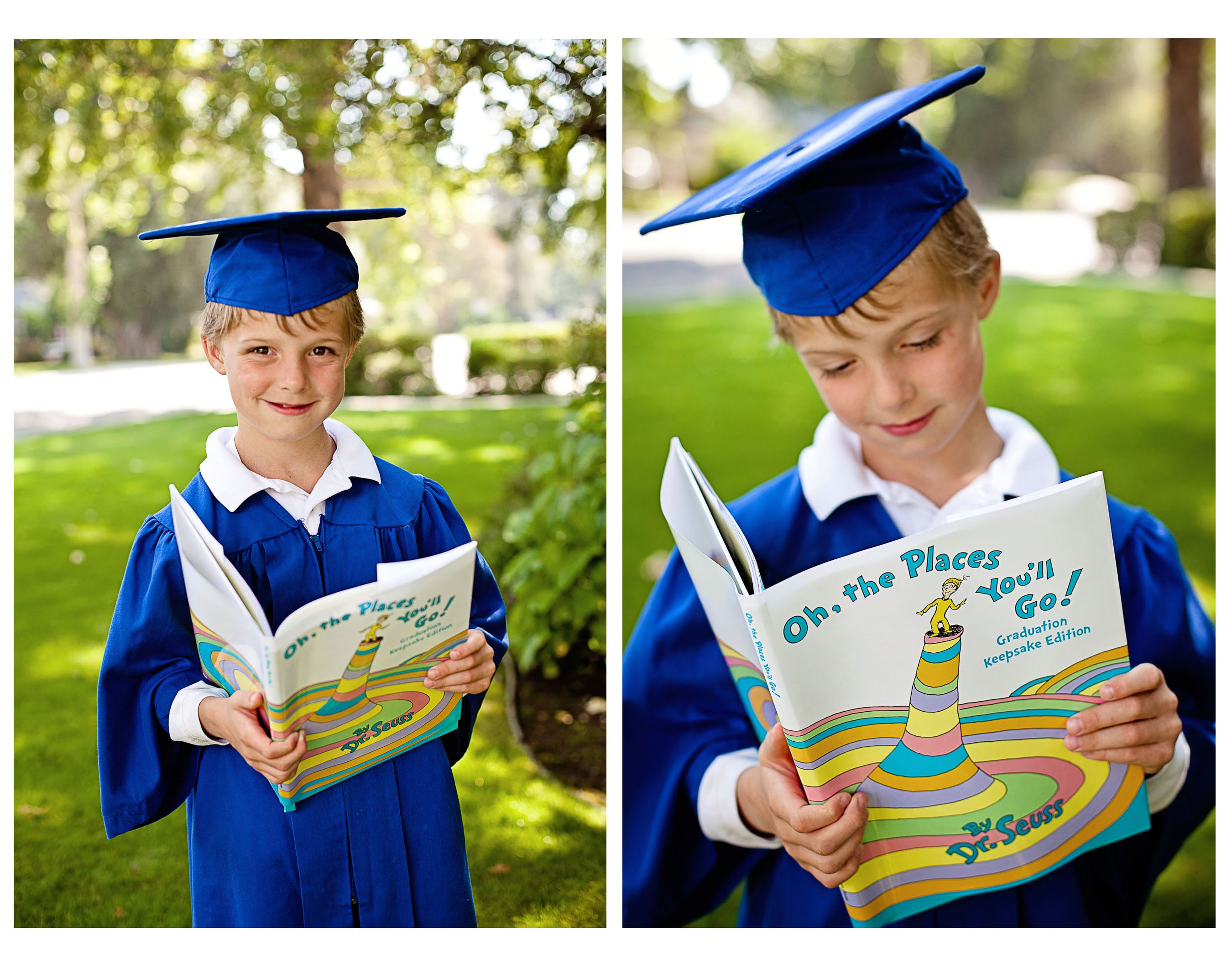 Cap and gown for kindergarten - Kindergarten Graduation