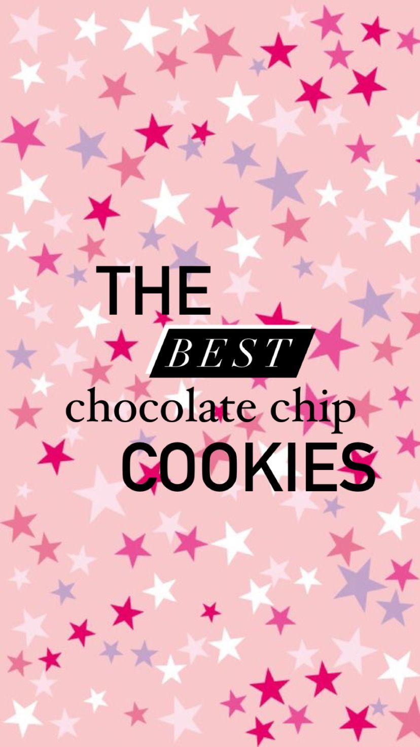 the BEST chocolate chip cookies!!
