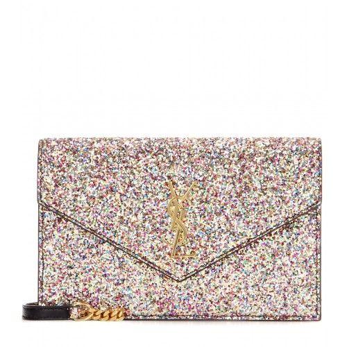 YSL glitter shoulder bag  e711290bc163b