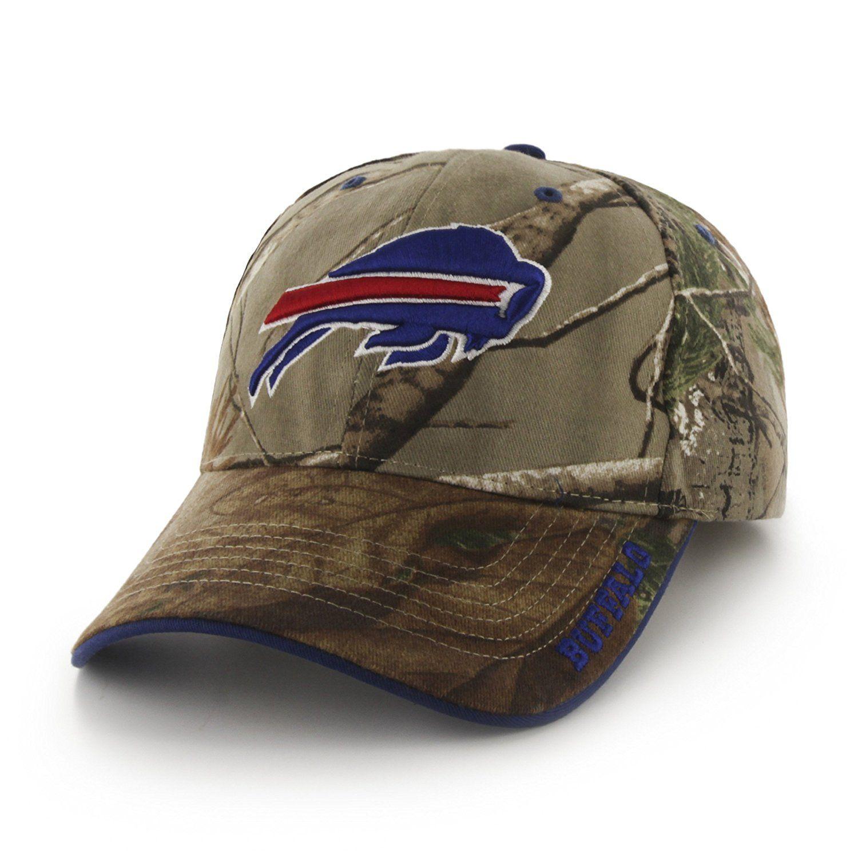 b90262f81cb Amazon.com   NFL Buffalo Bills  47 Frost MVP Camo Adjustable Hat ...