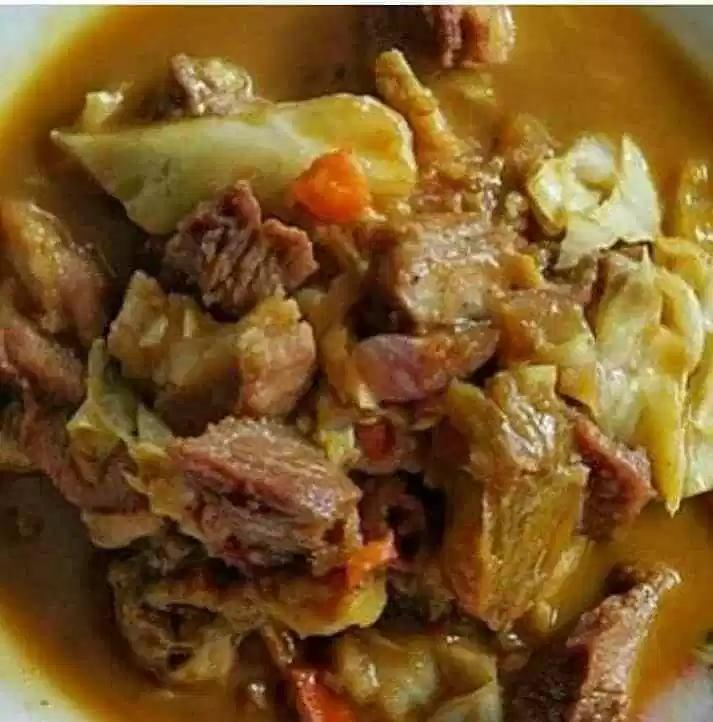 Resep Tongseng Kambing Santan Resep Resep Daging Masakan