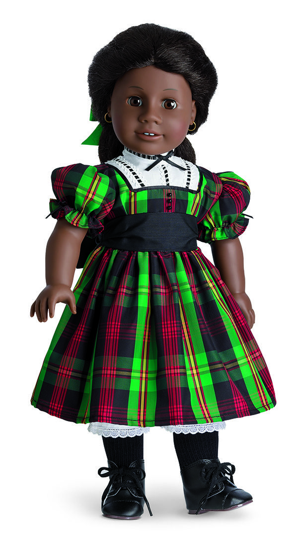 CHRISTMAS  DRESS NEW !!! AMERICAN GIRL ADDY TARTAN PLAID HOLIDAY