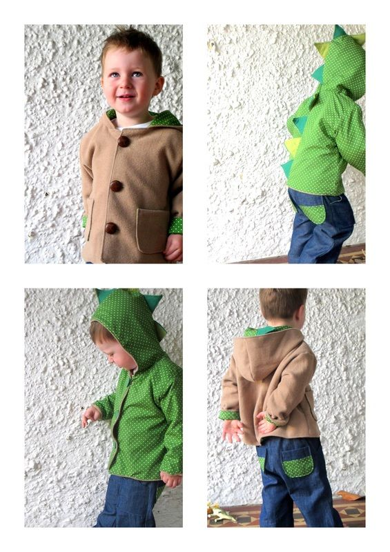 reversible dinosaur jacket...