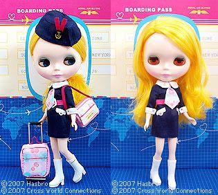 60s Stewardess Blythe.