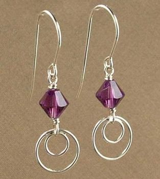 Earring Design Ideas earring design ideas screenshot Simply Modern Amethyst Earrings Jewelry Design Ideas