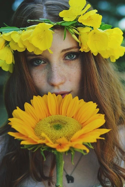 ❀ Flower Maiden Fantasy ❀ beautiful art fashion photography of women and flowers - princess buttercup