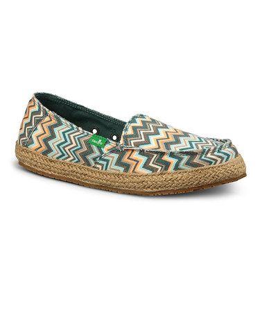 Sanuk Mallard Chevron Funky Fiona Slip-On Shoe - Women