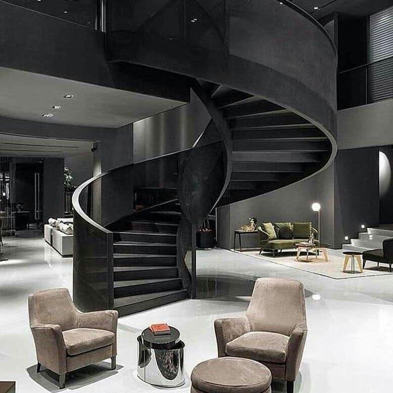 Black Tone Home 🖤#home #black #decor #diy | Dream house ...