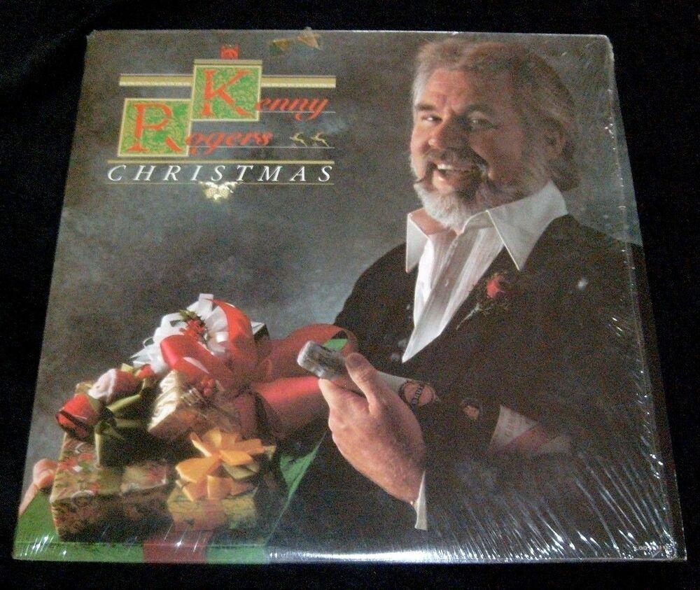 Kenny Rogers Christmas LP Album Vinyl 1981 Liberty/Capitol