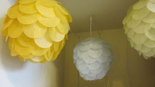 Paper Petal Lanterns DIY task board Pinterest Clear christmas