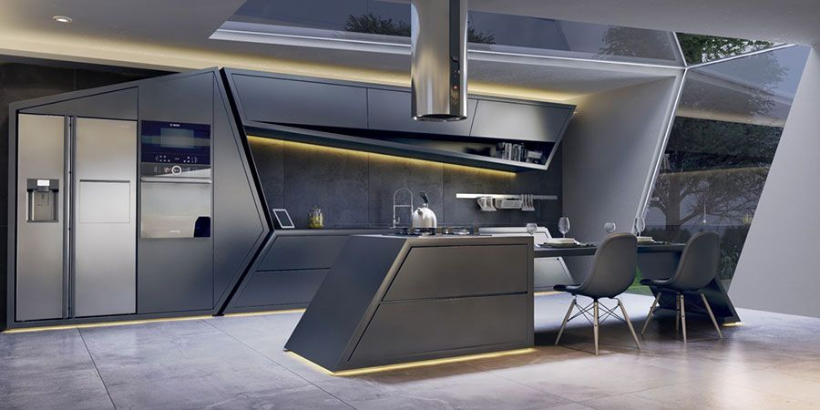 Cucine Di Lusso 45 Progetti Da Sogno Mondodesign It Progettazione Di Una Cucina Moderna Cucine Di Lusso Interni Della Cucina