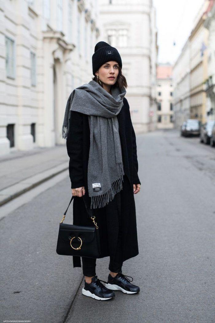 Alle schwarzen Outfits für Frauen - Frauen Mode | Outfit