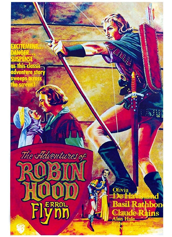 Tom S Films Of Errol Flynn Gallery Robin Hood Errol Flynn Movie Posters Vintage