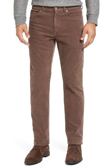 a6a0605416a7cd Peter Millar Tailored Straight Leg Stretch Corduroy Pants. #petermillar  #cloth #