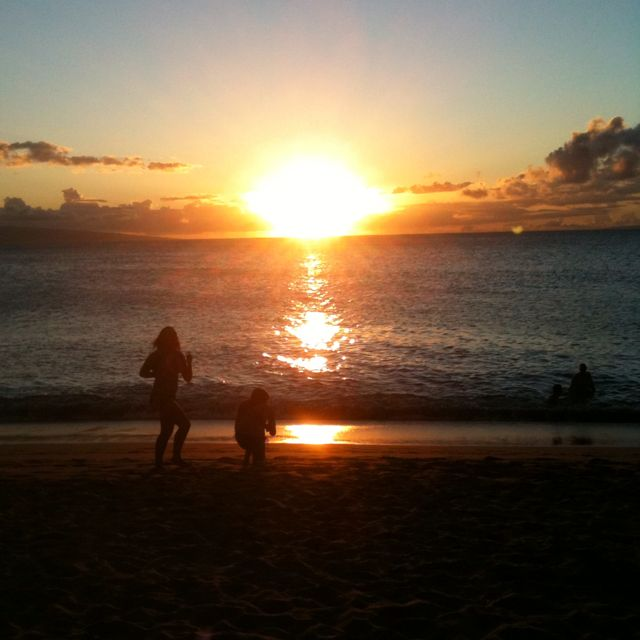 Sunsets in Maui!