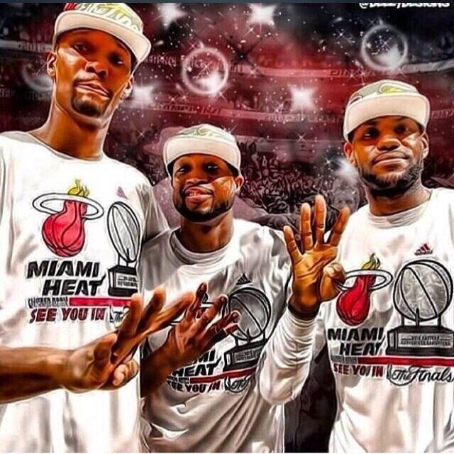 Miami Heat 4 straight NBA Finals