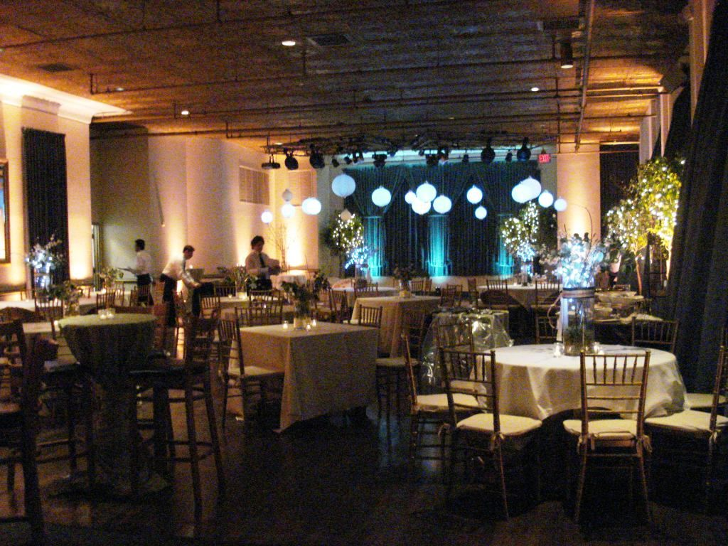 Cocktail Style Reception Seating.
