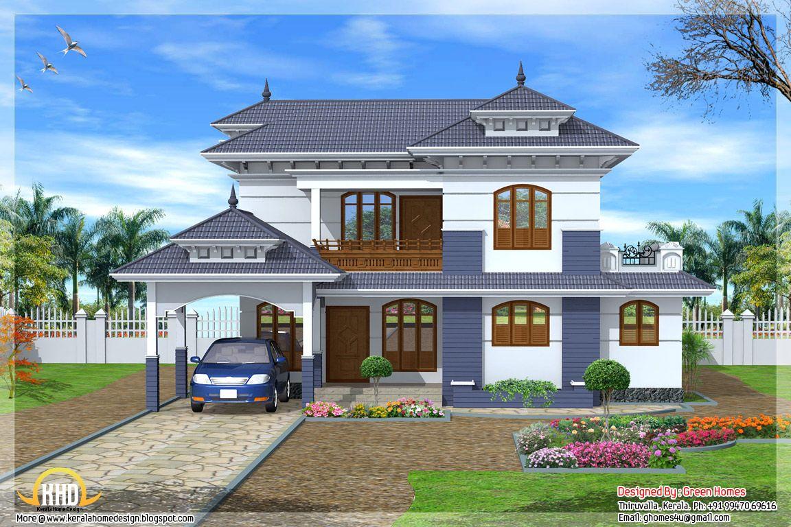 House Plan Kerala Home Design Style Showy