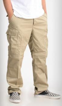 Mil-Tec Zip-Off BDU-reisitaskuhousut, khakit